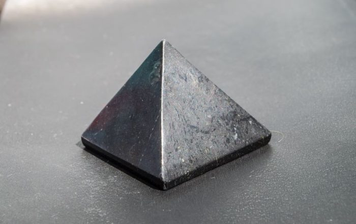 EMF Protection Crystals: The Heka Naturals Shungite Pyramid