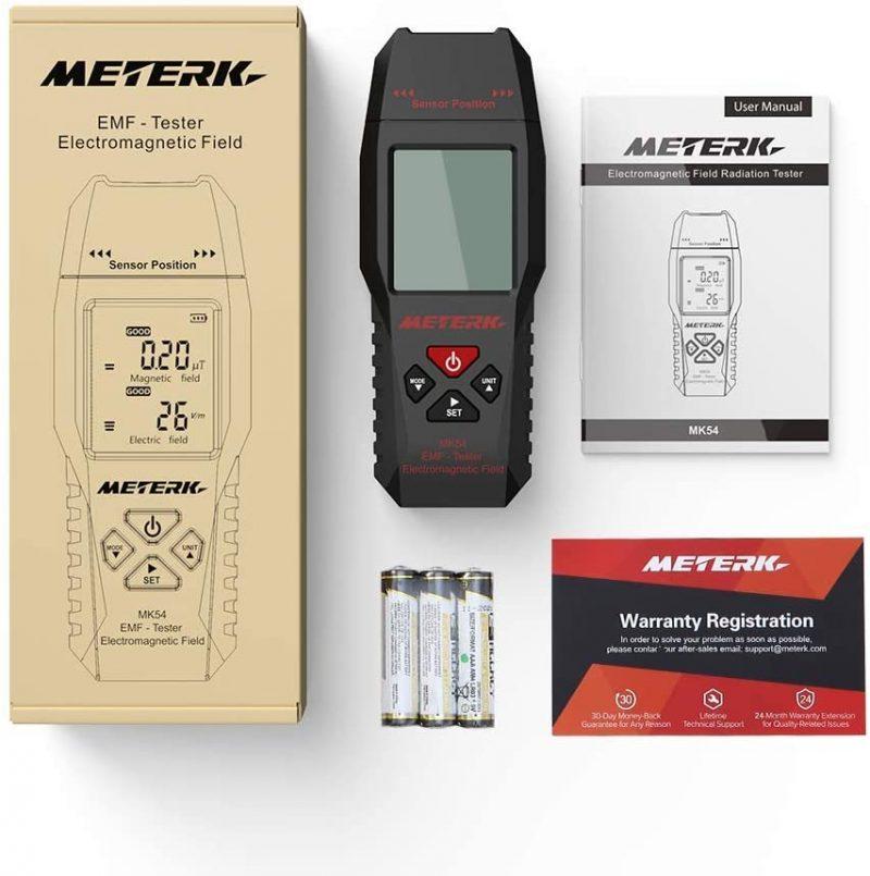 Meterk EMF Meter Review