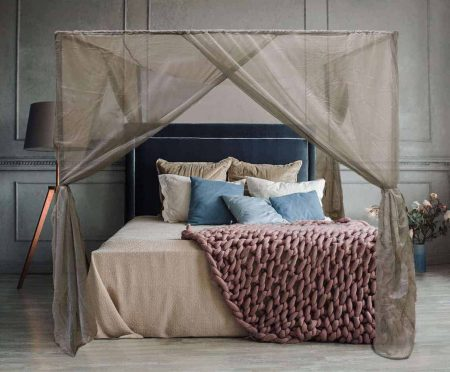 BlockSilver Four Poster Canopy With Frame
